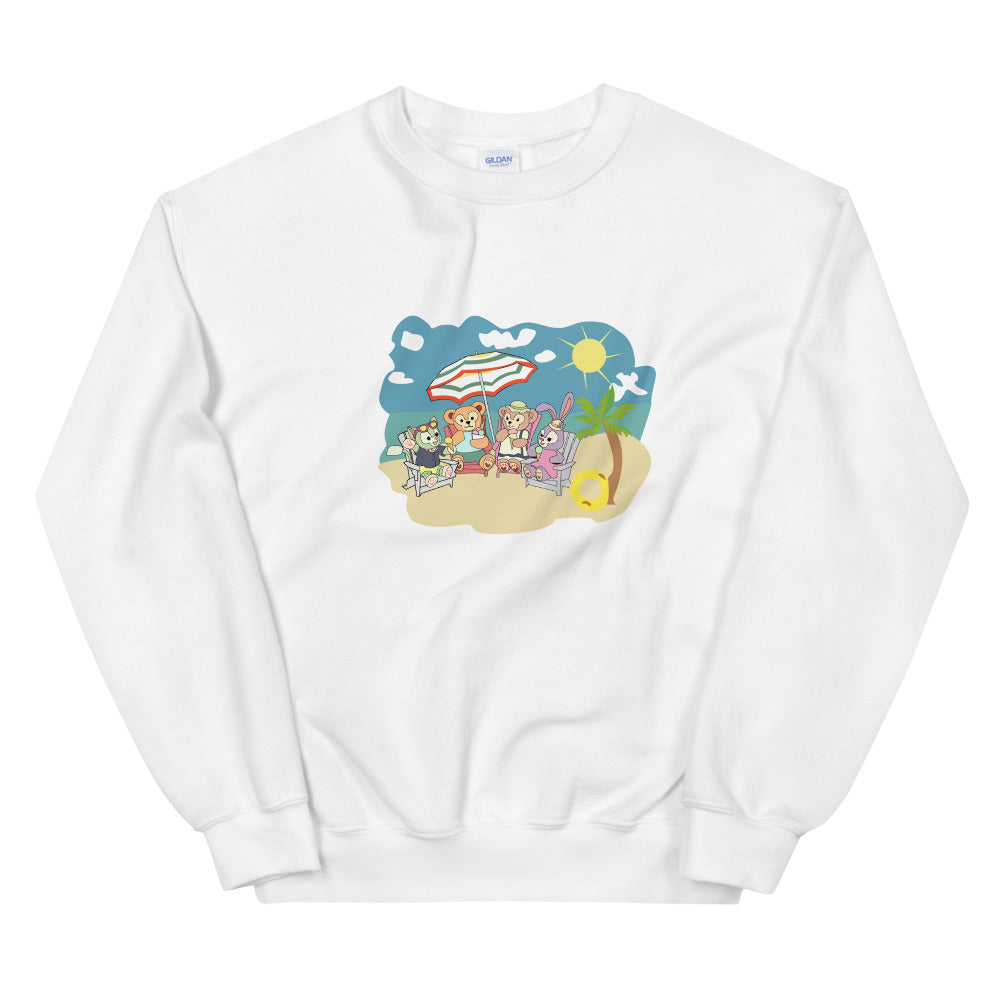 Duffy at the Beach Unisex Sweatshirt