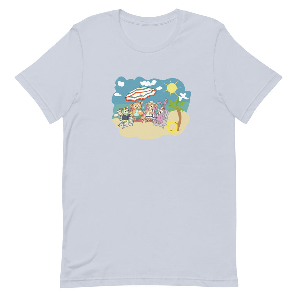 Duffy at the Beach Short-Sleeve Unisex T-Shirt