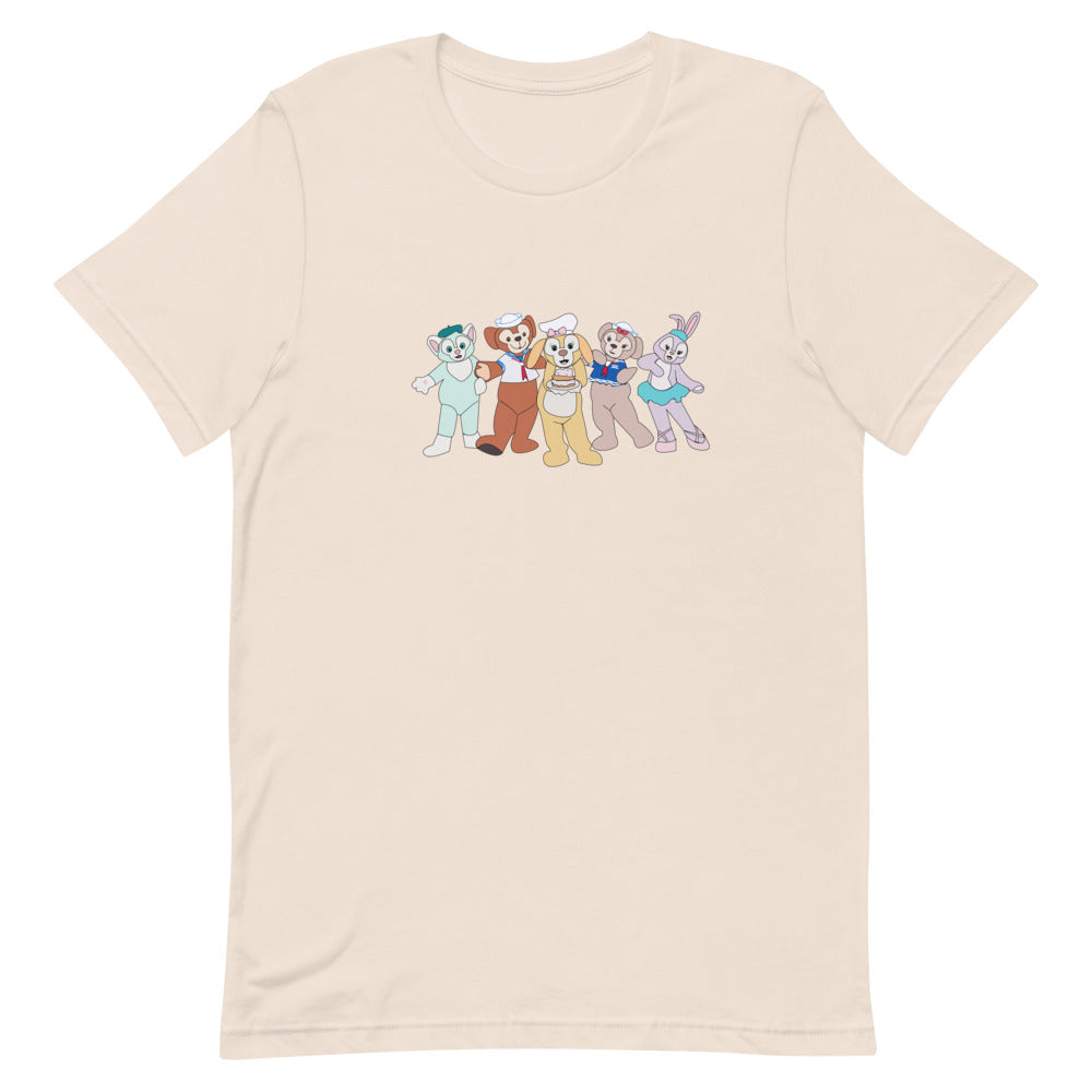 Classic Duffy and Friends Short-Sleeve Unisex T-Shirt
