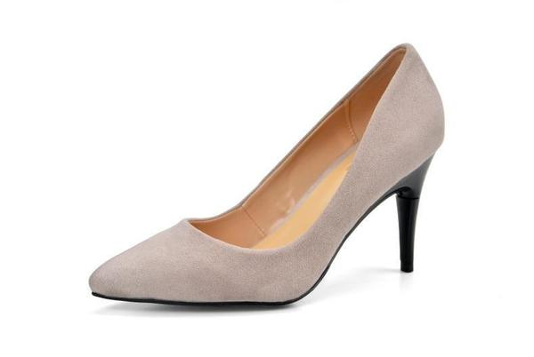 c4b2d04cfc2 Convertible High Heel Shoes (Nude) – Euporie Style