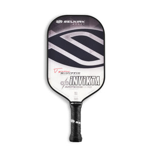 Selkirk Amped Invikta Midweight Pickleball Paddle - Black