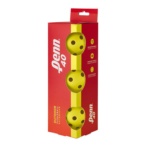 Penn 40 Outdoor 6 Pack Pickleball