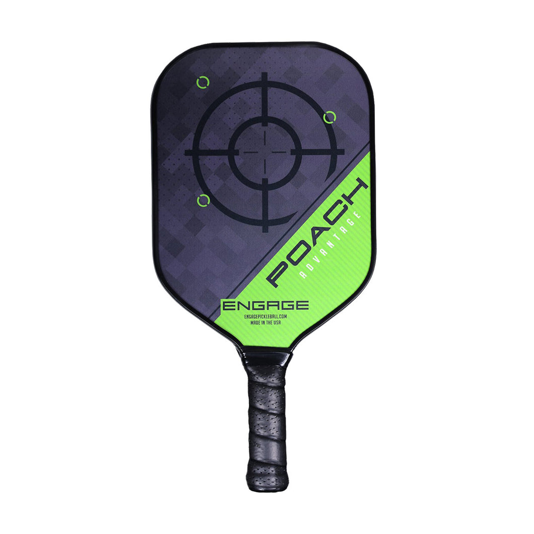 Engage Poach Advantage Pickleball Paddle - Green