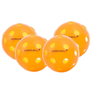 Dura Fast Indoor Pickleball - 4 Pack