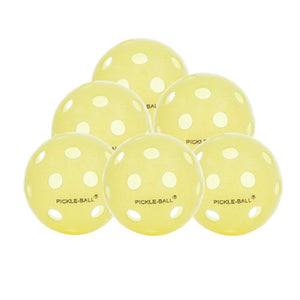 Dura Fast Indoor Pickleball - 6 Pack