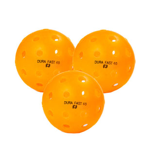 Dura Fast 40 Outdoor Pickleballs - 3 Pack (Promo)