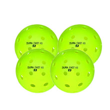 Load image into Gallery viewer, Dura Fast 40 Outdoor Pickleball - 4 Pack