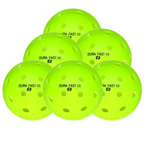 Dura Fast 40 Outdoor Pickleball - 6 Pack
