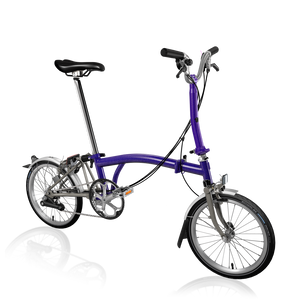 Brompton M6L Superlight Purple Metallic Ti