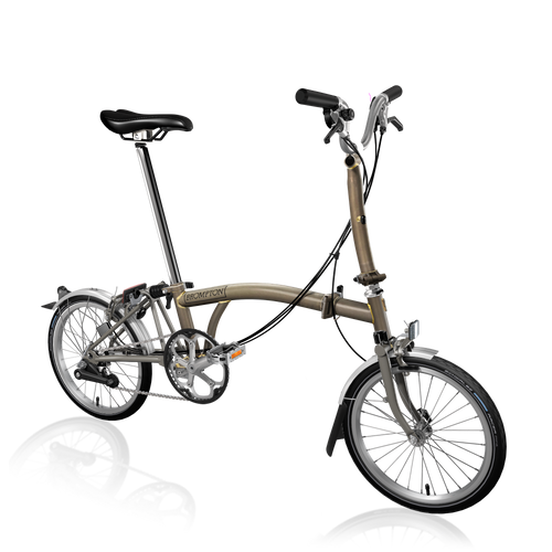 Brompton M6L Superlight Raw Lacquer Ti