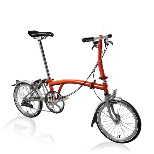 Brompton S2L Superlight Flame Lacquer Ti