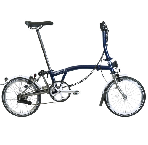 Brompton S6L Superlight Tempest Ti w/Kojak Tires