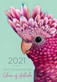 2021 Calendar 'Colours of Australia'