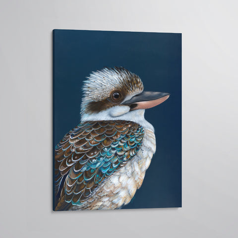 'Archie' The Laughing Kookaburra canvas print