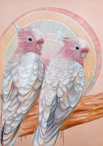 'Mitchell and Maude' Major Mitchell Cockatoo pair