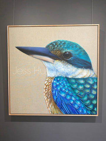 'Reef' The Sacred Kingfisher Original Artwork