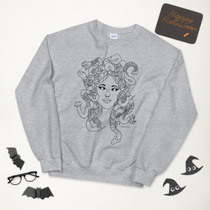 Medusa Grey Crewneck- Limited Time*