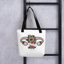 Load image into Gallery viewer, Uterus Tote bag