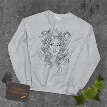 Load image into Gallery viewer, Medusa Grey Crewneck- Limited Time*