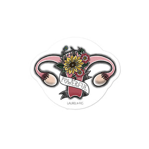 Powerful Uterus Sticker