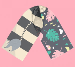 in the jungle - luxe fashion scarf