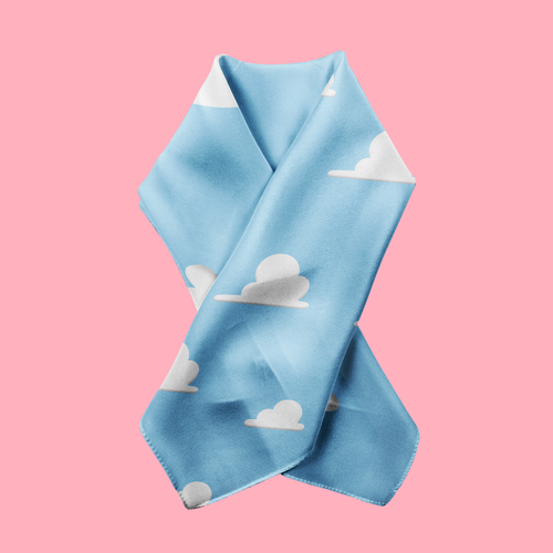 andy's room - toy story inspired cloud scarf