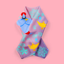 friend like me - genie print fashion scarf