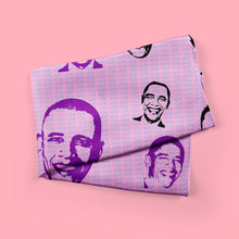 hope - obama print fashion scarf