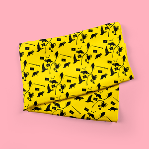 loyalty - luxe yellow fandom scarf