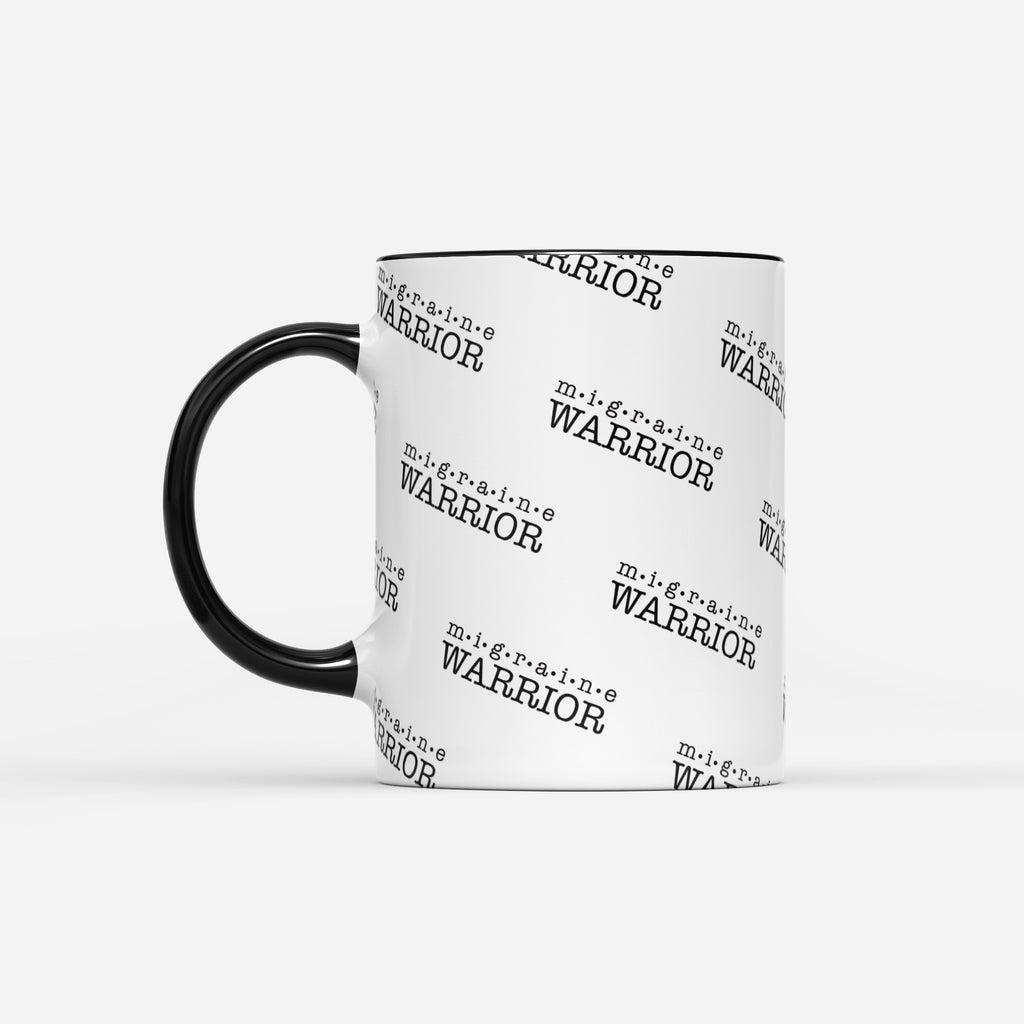Migraine Warrior Mug - Achy Smile Shop