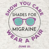 Shades for Migraine Baseball Tee & Sunglasses  | June 21