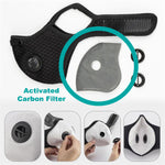 Filter Only: Ventilated Sport Face Mask Filters