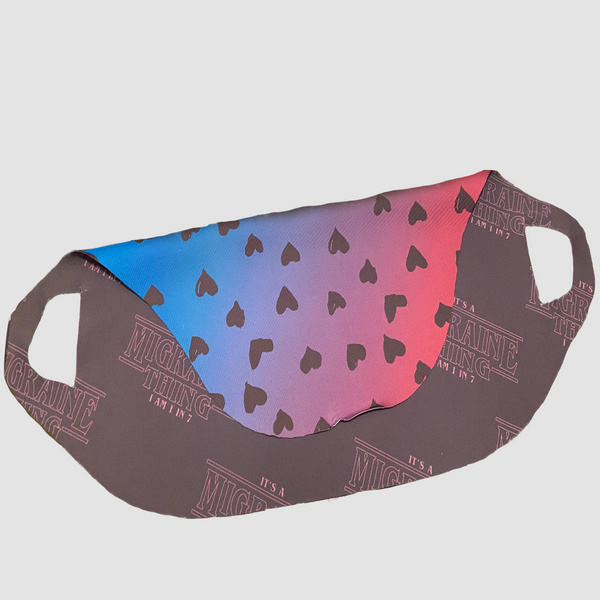 Fold Over Mask Cover - Multiple Designs