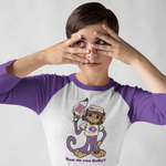 Rally Against Chronic Migraine Baseball Raglan