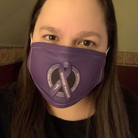 The Migraine Warrior Logo Cloth Mask Cover
