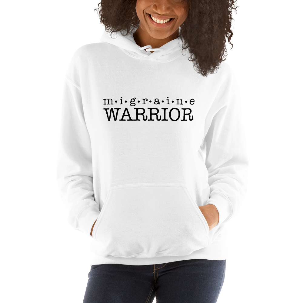 Migraine Warrior Unisex Hoodie - Achy Smile Shop