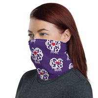 Brain Love Purple Neck Gaiter