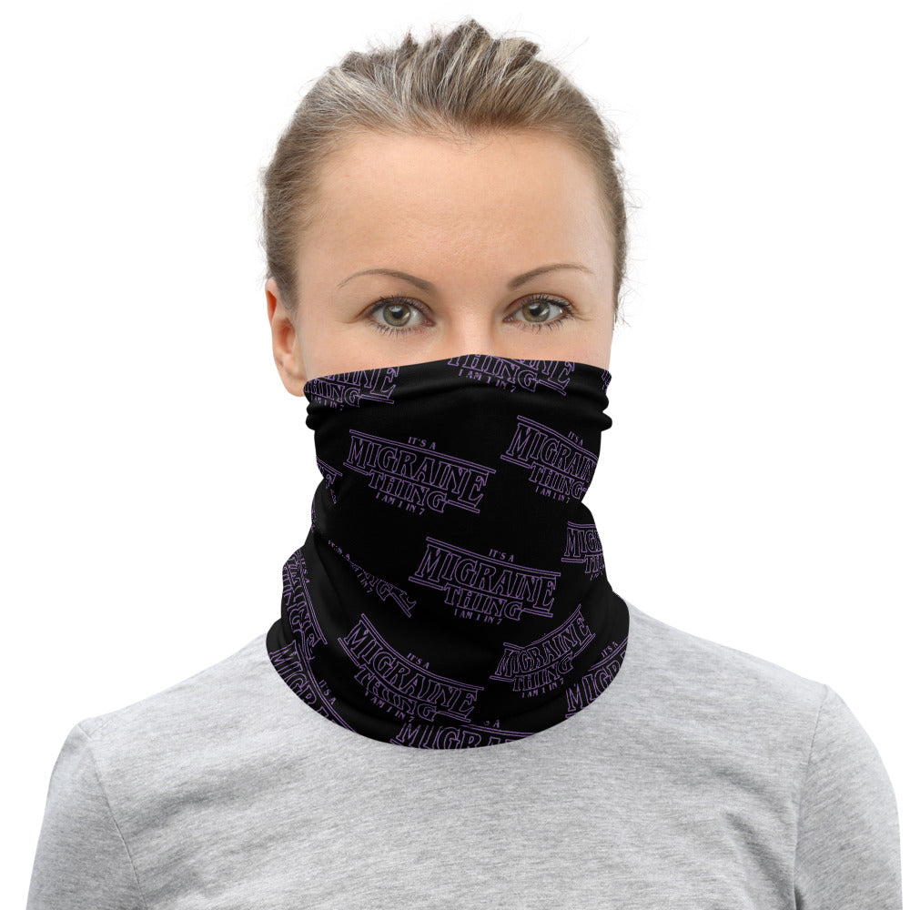 Migraine Thing Neck Gaiter - Achy Smile Shop