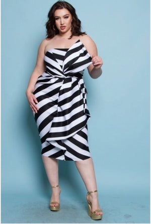 Swerve Cookies & Cream Tube Dress
