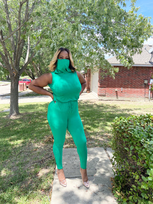 On the Go Mask Romper