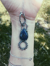 Load image into Gallery viewer, lapis teardrop pendant
