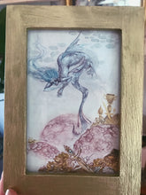 Load image into Gallery viewer, water guardian // framed original art