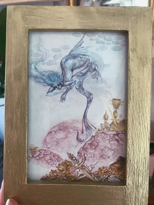 water guardian // framed original art