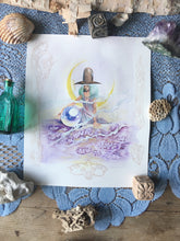 Load image into Gallery viewer, flower mystic original drawing