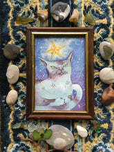 Load image into Gallery viewer, foxlike starcat (framed)