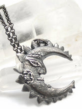 Load image into Gallery viewer, crescent moon pendant // tide