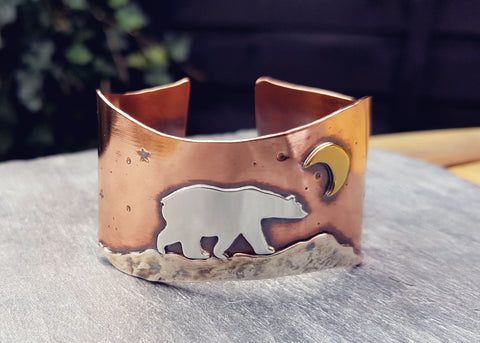 Creating the Moon Bear Cuff