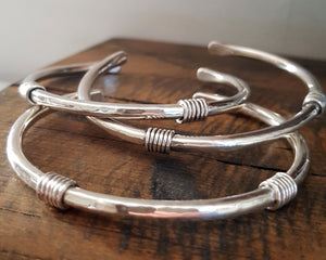 Plain 'Boudicca' Torque Bangle