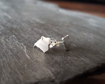 Isle of Wight Stud Earrings