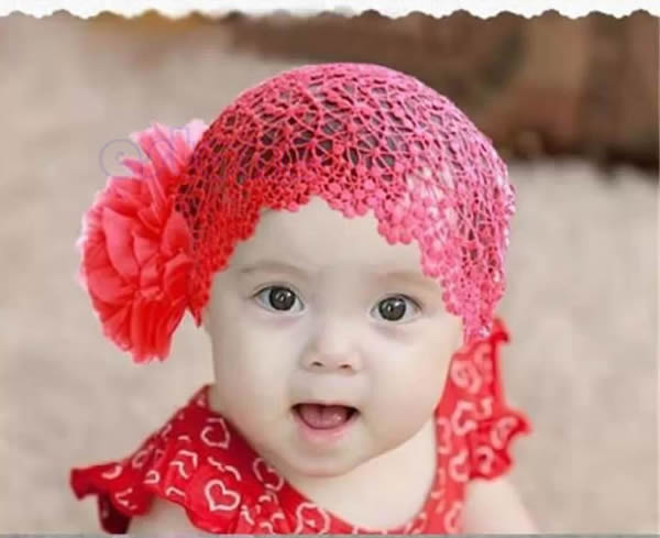 Big Sale Cute  Girl Lace Elastic Hairband Hair Accessories for 6-24 Months
